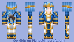 Queen Ashe Minecraft Skin
