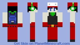 Quote (cave story) Minecraft Skin