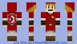 Red Link Minecraft Skin