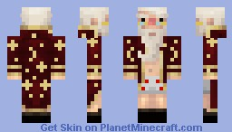 Old-Crazy-Mage for Magic 200 sub's ^^ Minecraft Skin