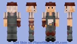 Radigan Conagher from TF2 – Leather hard hat version Minecraft Skin