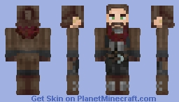 Raice Escariot, Famed Dwarf and Writer [FRP - Armored - Best in 3D] Minecraft Skin