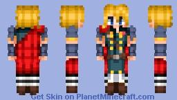 Rain - Final Fantasy Brave Exvius Minecraft Skin