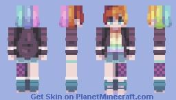 Over The Rainbow Minecraft Skin