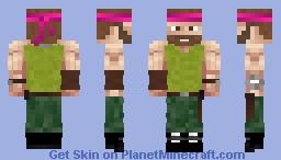 John Rainbow (Acthung Cthulhu) Minecraft Skin