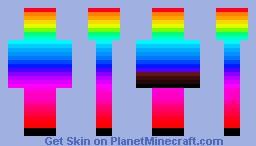 MineCraft-Planet - Rainbow Minecraft Skin
