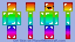Rainbow Minecraft Skin