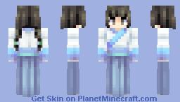Rainy season 【Traditional Chinese dress】 Minecraft Skin