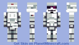 Ralph McQuarrie Stormtrooper Minecraft Skin