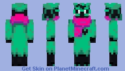 Ralsei he has a hat this time Minecraft Skin