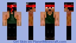 John Rambo (Rambo movies) Minecraft