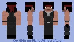 Rambo II -2 Minecraft Skin