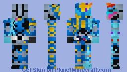 Kamen Rider Rampage Vulcan 仮面ライダーランペイジバルカン Minecraft Skin