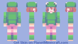 Rana the Frog | Deleted Mob Minecraft Skin