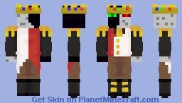 Ranboo Paradise Burger Minecraft Skin