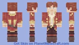 Rand al'Thor (Wheel of Time) Minecraft Skin