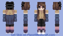 If the world was ending Minecraft Skin