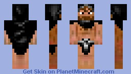 random guy with cape Minecraft Skin
