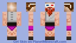 strong man john Minecraft Skin