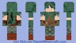 Jungle Ranger Minecraft Skin