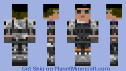 Black-opertive Minecraft Skin