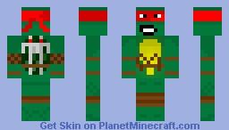TMNT - Raphael Skin