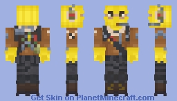 Raptor [Fortnite] Minecraft Skin