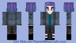 Rachel (Raven) - Titans DC Netflix Serie Minecraft Skin