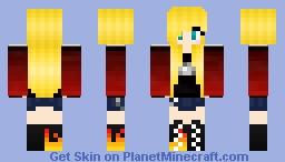 Rawkmie Klark (Female Rawk Klark) Minecraft Skin