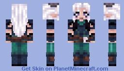 Rayla - The Dragon Prince Minecraft Skin