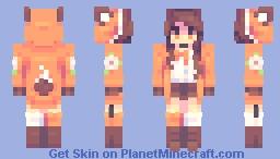 F o x 🦊 || ⨠⨠ Rce Minecraft Skin
