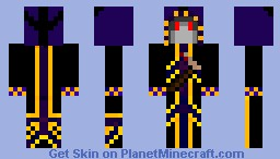 Wraith of Reaping Minecraft Skin