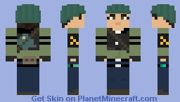 Rebel Female 01 Minecraft Skin
