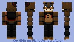 fnaf plus freddy Minecraft Skin