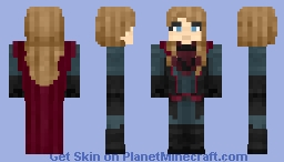 Red Daughter (CW) Minecraft Skin