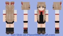 赤色 ♡ Minecraft Skin