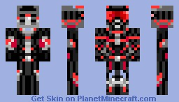 Red Crysis (Full Body) Minecraft Skin