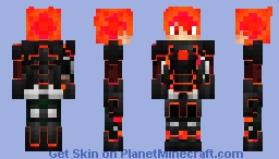 Red Hero Minecraft Skin