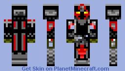 Red Knight Minecraft Skin