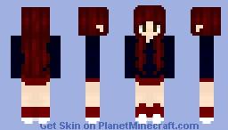 RED Kpop Special   Recolored Original Skin Minecraft Skin