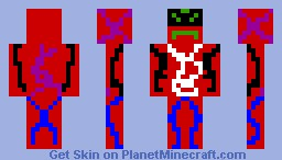RED man! Minecraft Skin
