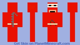 Red ninja pyjamas