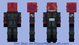 The Red Skull Minecraft Skin