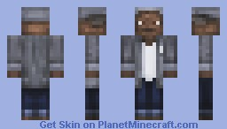 red - Shawhank redumption. (skin contest) Minecraft Skin