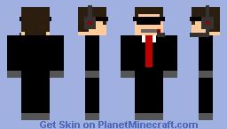 Cia (Red) Minecraft Skin