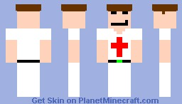 redcroos for extra life skin contest Minecraft