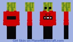 redstone melon Minecraft Skin