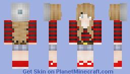Brunette wavy girl :3 ~Fredzia~ Minecraft Skin