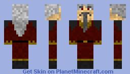 Red wizard Minecraft Skin