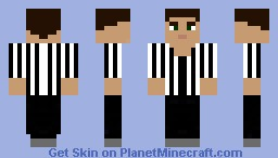 Referee Minecraft Skin